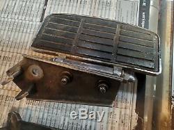 OEM Harley-Davidson 50601-83 Foot Floor Board Passenger Chrome Covers FXRT FLT F