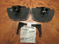 OEM Harley Davidson Softail Passenger Floorboard KIT HD Script covers 2000-17