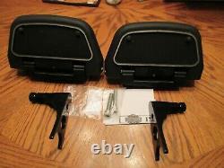 OEM Harley Davidson Softail Passenger Floorboards Kit -Fits 2000 UP #73HH