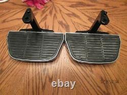 OEM Harley Touring Electra Ultra RK Trike Passenger Floorboards HD Chrome Covers
