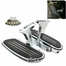 Passenger Floorboard Footboard Peg Pedals For Harley Street Road Glide 1993-2021