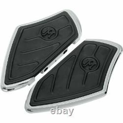 Performance Machine PM Contour Passenger Floorboards Harley FLH & Softail Chrome