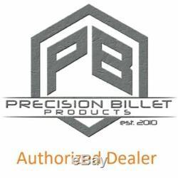 Precision Billet Chrome Bad Axe Rider Floorboards for Harley Davidson Big Twin