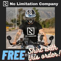 RARE OEM Harley Genuine Touring CVO Chrome Mount Passenger Floorboard Foot Board