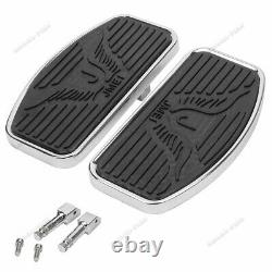 Refit Passenger Floorboards Footboards Pedal For Honda Shadow VT750 VT400 EF
