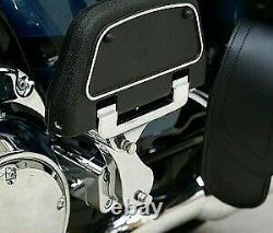 Rivco Products Harley-Davidson Passenger Floorboard Mounts, Chrome HDPBLA