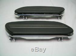Stock OEM Streamliner Rider Footboards Harley Touring & FL Softail FloorBoard