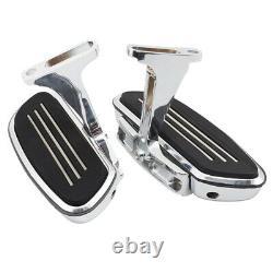 Streamline Passenger Floorboard Footboard & Bracket For Harley Touring 1993-2020