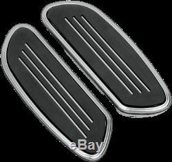 Streamline Passenger Floorboards Chrome Drag Specialties 1621-0349
