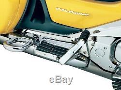 Transformer Passenger Floorboards Chrome 7006 For 01-16 Honda GL1800 GoldWing