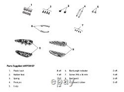 Triumph Motorcycles Classic Rider Floorboards A9758157