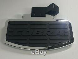 VN1500A/B/C'87-97 & D/E/J'96-00, Chrome, Cobra Passenger Floorboards, #06-3930